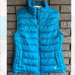 NEW Champion Puffer Vest Sz Lrg